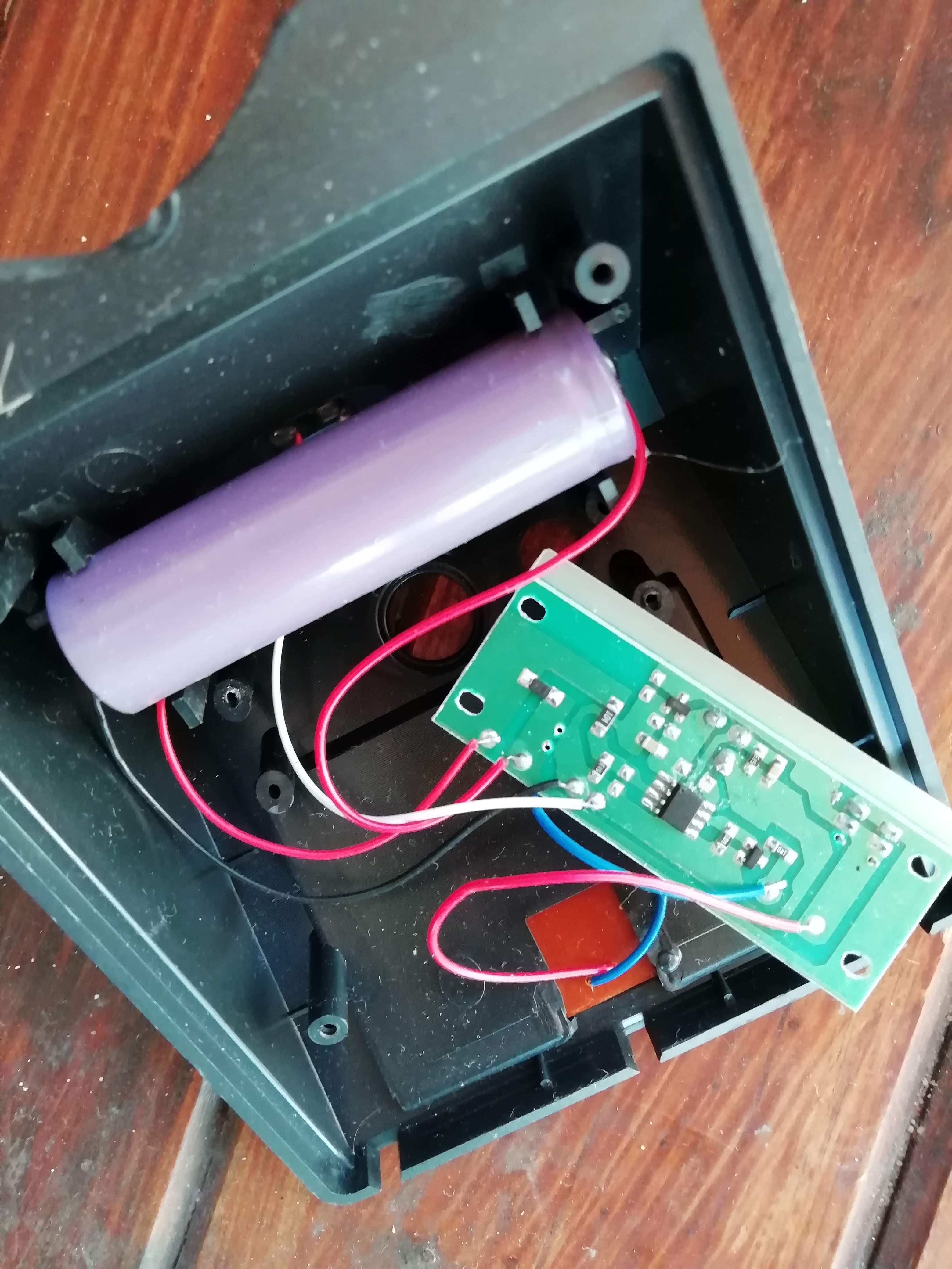 Desactivar Sensor De Movimientos Lámpara Solar Del Yoreparo