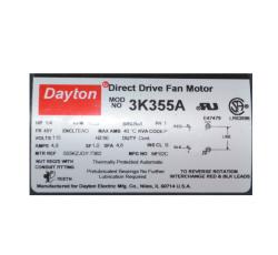 imagen adjunta de Motor dayton sin rejillas de ventilaciÓn
