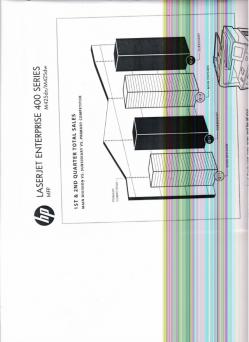imagen adjunta de Hp  laser jet 400mfp  copias rayadas o a veces negras