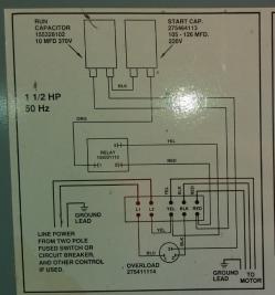 imagen adjunta de Armado de tablero para  bomba sumergible 3 hp monofasica