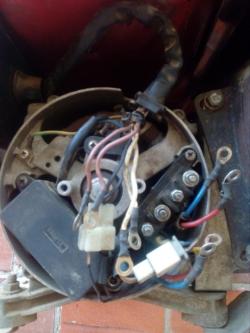 imagen adjunta de generador electrico no funciona cables sueltos