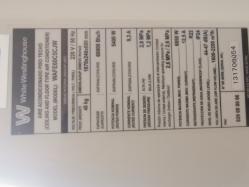 imagen adjunta de Presión de gas en aire de 60000btu techo piso westinshouse
