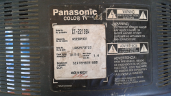 imagen adjunta de saludos, tengo un tv panasonic ct-2136w  el tv no enciende