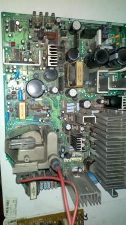imagen adjunta de Sony Trinitron falla de video