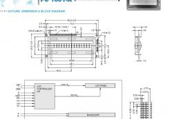 imagen adjunta de LCD 16x1 sólo se ve la mitad