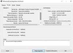 imagen adjunta de problema con la VRAM de mi laptop