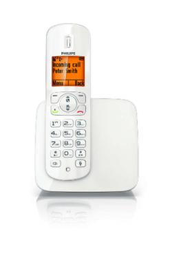 imagen adjunta de Telefono inalambrico Philips CD2801W/77 no se ve nada en la pantalla