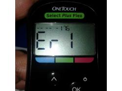 imagen adjunta de Error 1 glucometro one touch select plus flex