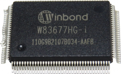 imagen adjunta de datasheet W83677HG