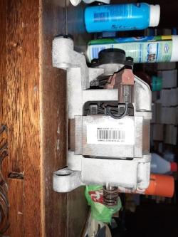 imagen adjunta de Samsung wf1904 eco bubble 9kg cambio de motor, los cables no coinciden
