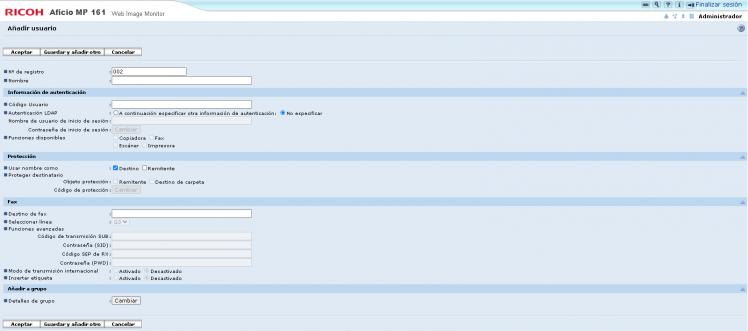 actualizar firmware ricoh aficio mp 161